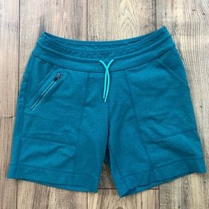 Title Nine Drawstring Shorts Zipper Pocket